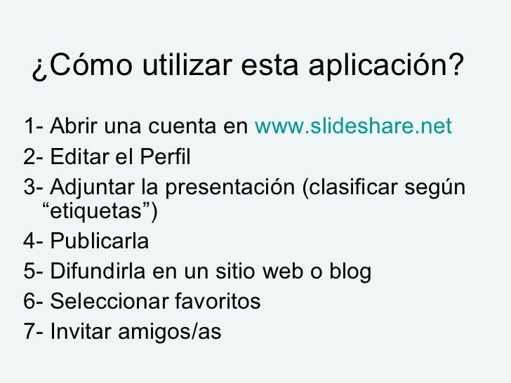 Tutorial de Slideshare Slide 3