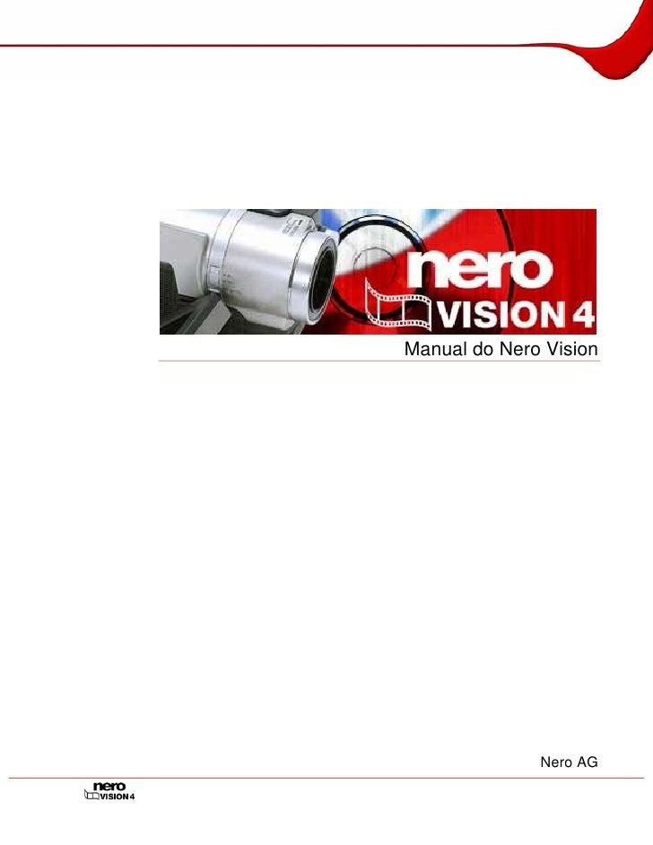 Manual do Nero Vision                   Nero AG