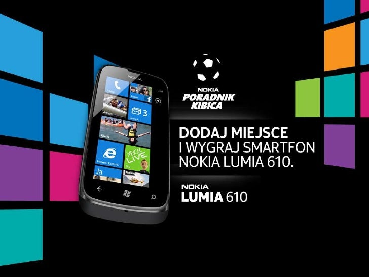 Poradnik Kibica Nokia: dodawanie miejsc