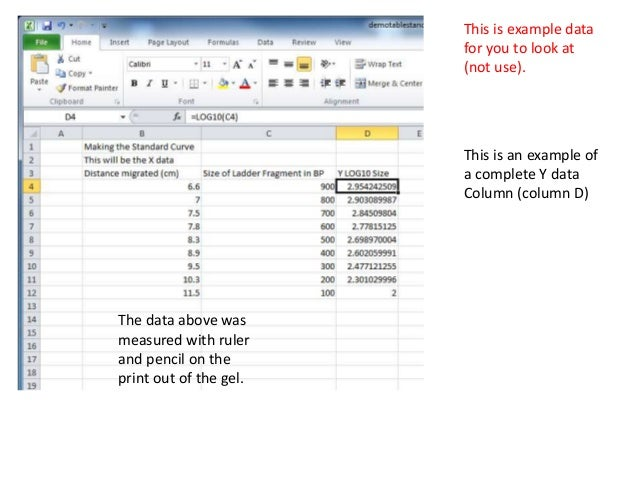 making graph in excel
