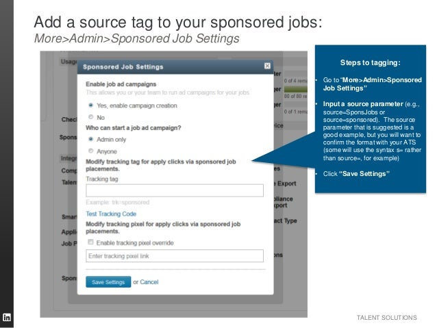 how to add a job on linkedin