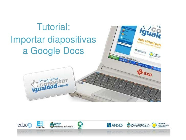 google docs web presentation tutorial