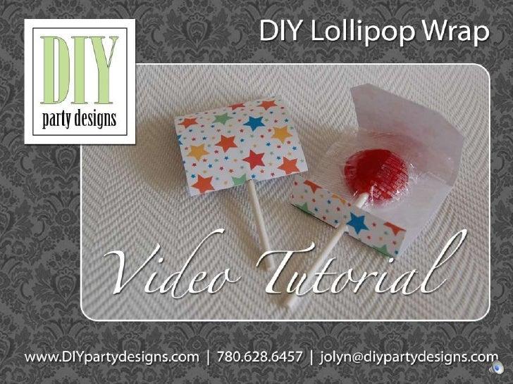 Tutorial lollipop wrapper2