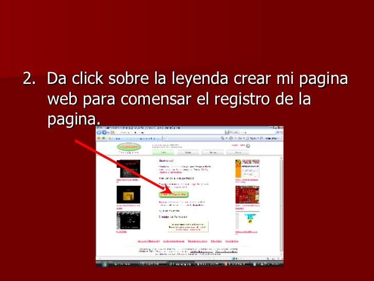 Tutorial para crear tu propia pagina web Crear website