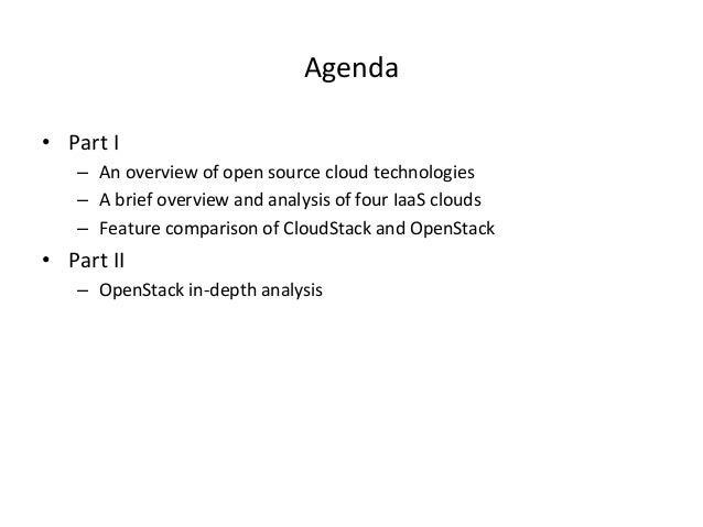 Open Source Cloud Technologies Slide 3