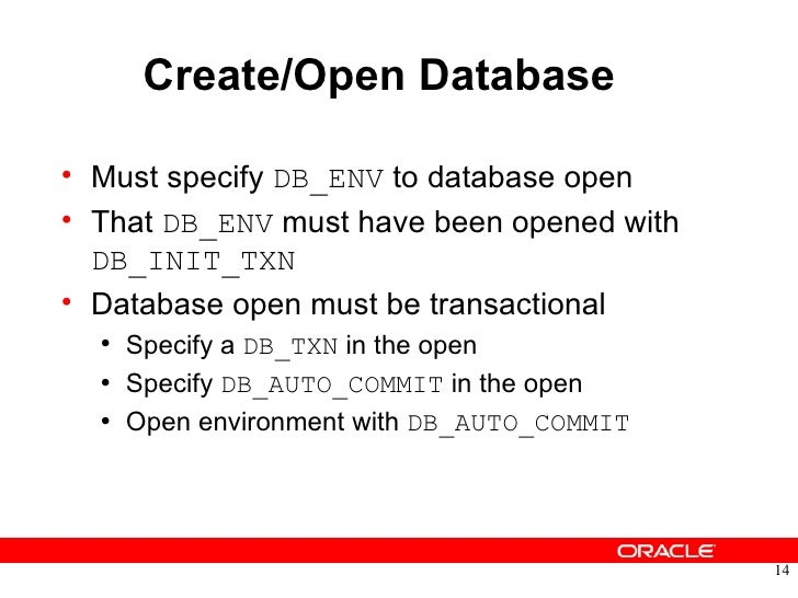 oracle berkeley db transactional data storage tds tutorial rh slideshare net Document-Oriented Database Neo4j