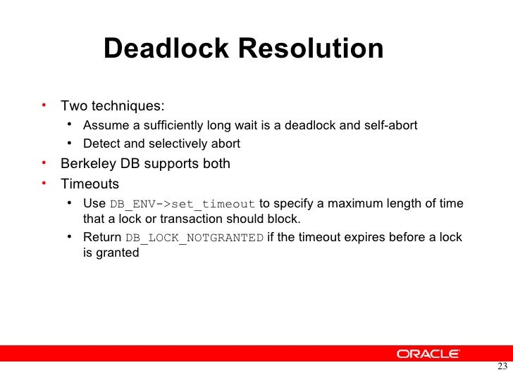 oracle berkeley db transactional data storage tds tutorial rh slideshare net Neo4j Hibari Database