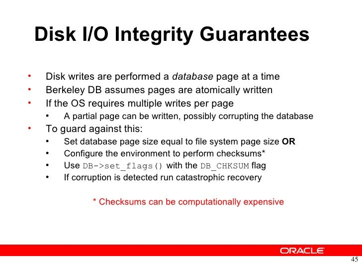 oracle berkeley db transactional data storage tds tutorial rh slideshare net Amazon SimpleDB Oracle Coherence