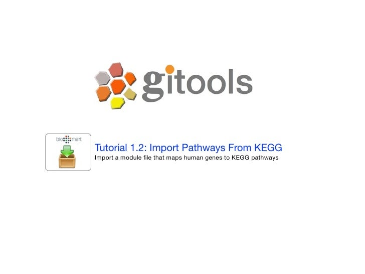 Tutorial 1.2: Import Modules From Biomart Import a module file that maps all human genes to Gene Ontology Biological proces...