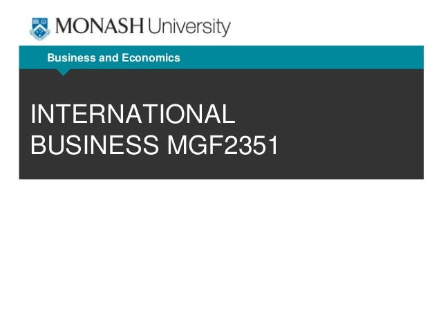 international business tutorial question Dear sir, i am searching for some old question papers of second year international business of annamalai university thanks and regards dhanya m joshy.