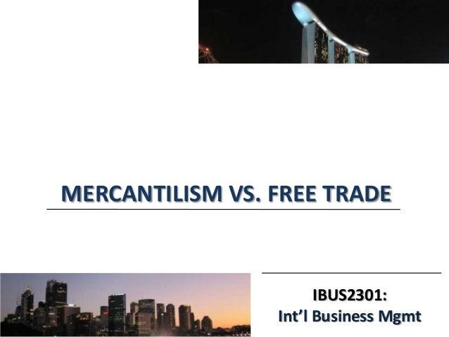 Mercantilism vs laissez faire essay example