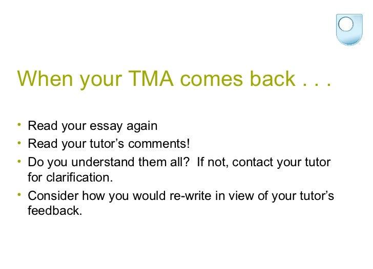 aa100 tma 06 essay