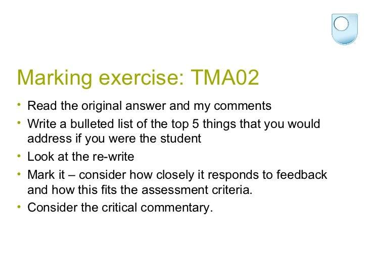 Tma02 essay plans