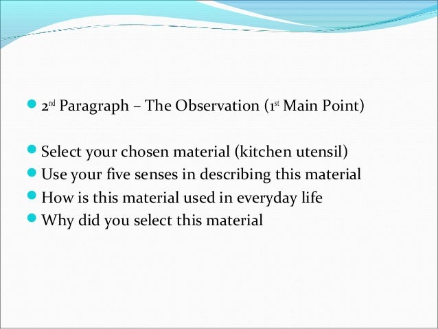 process essay format A classic format for compositions is the five-paragraph essay it is not the only format for writing an essay, of course, but it is a useful model for you to keep in mind, especially as you.
