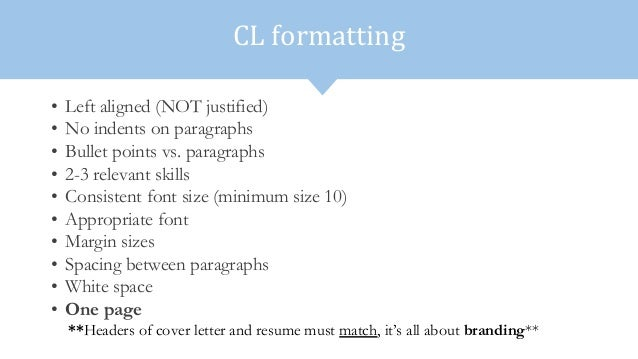 Cover Letter Formatting 9