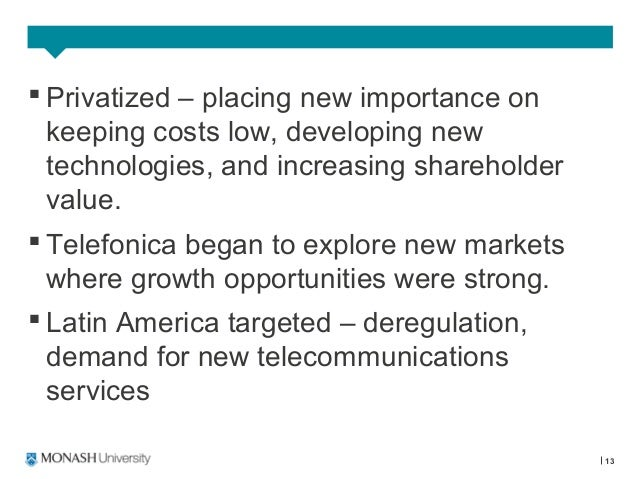why did telefonica initially focus on latin america why was it slower to expand in europe even thoug Free essays on why did telefonica initially focus on latin america why was it slower to expand in europe even though spain is a member of the european union.
