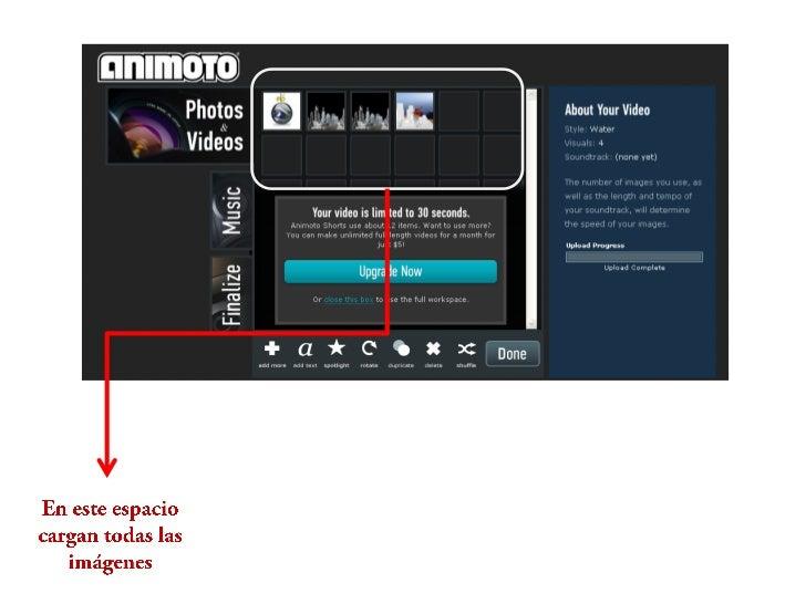En esta venta tienen la         opción   De seleccionar la canción para que sereproduzca en el video  o subir la que usted...