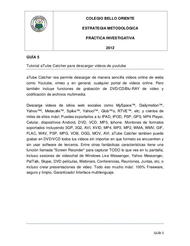 COLEGIO BELLO ORIENTE                                ESTRATEGIA METODOLÓGICA                                  PRÁCTICA INV...