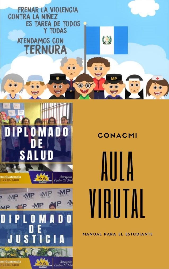 AULA VIRUTAL CONACMI MANUAL PARA EL ESTUDIANTE