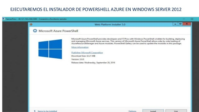 Aprende a Crear y Administrar VM en PowerShell Azure