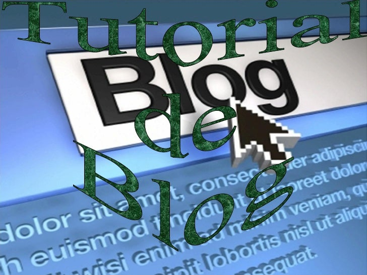 Tutorial de Blog