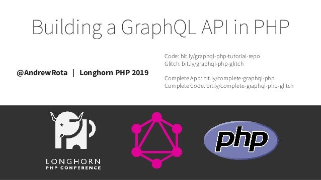 Tutorial: Building a GraphQL API in PHP