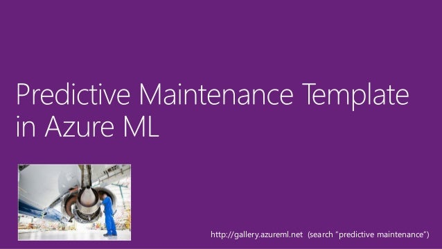 http://azure.com/ml free tier & standard tier 18  Accessible through a web browser, no software to install  Best ML algo...