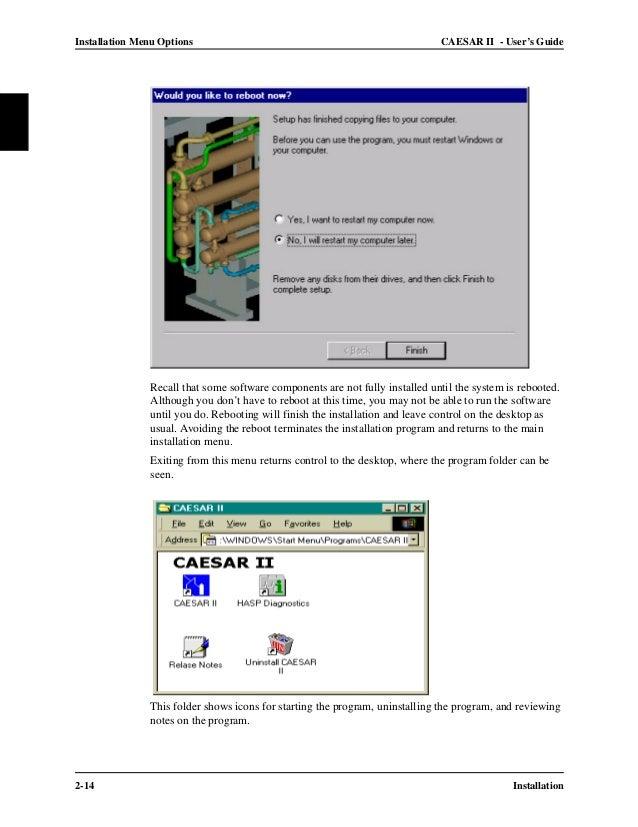 caesar ii technical reference manual pdf