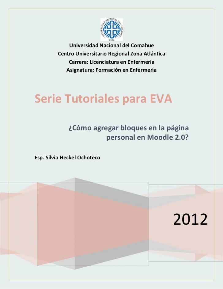 Universidad Nacional del Comahue         Centro Universitario Regional Zona Atlántica             Carrera: Licenciatura en...