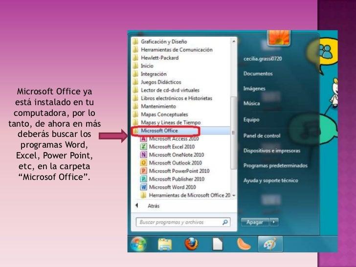 tutorial  c u00f3mo instalar el paquete office