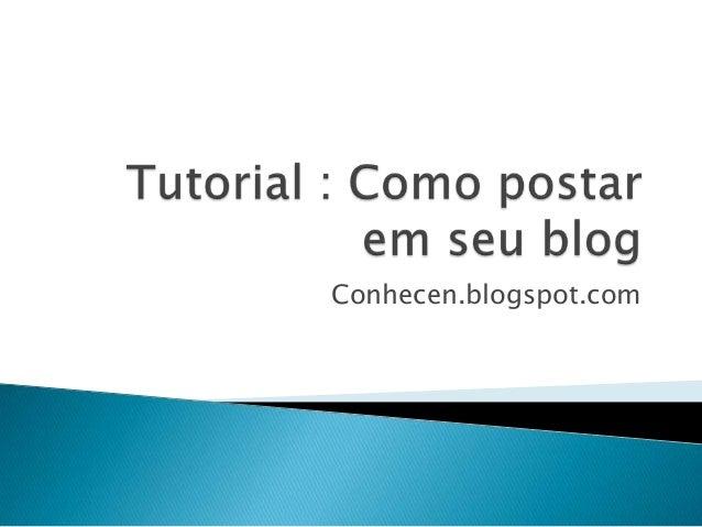 Conhecen.blogspot.com
