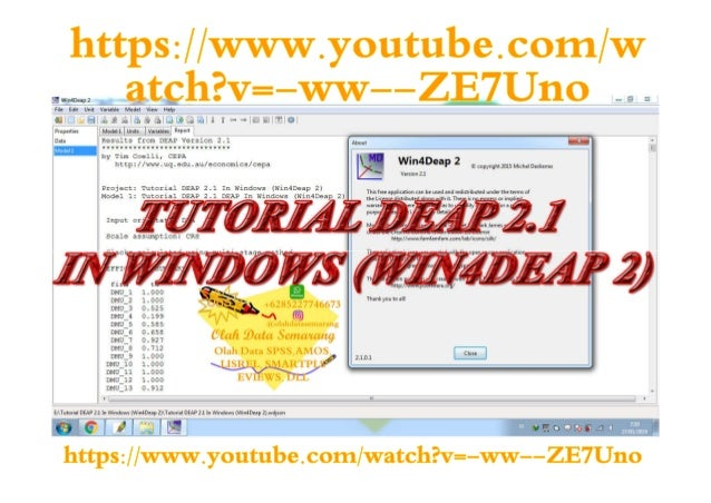 Tutorial DEAP 2 1 In Windows (Win4Deap 2)