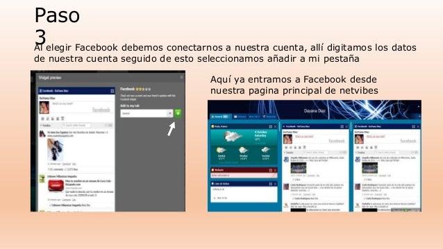 Paso  3Al elegir Facebook debemos conectarnos a nuestra cuenta, allí digitamos los datos  de nuestra cuenta seguido de est...