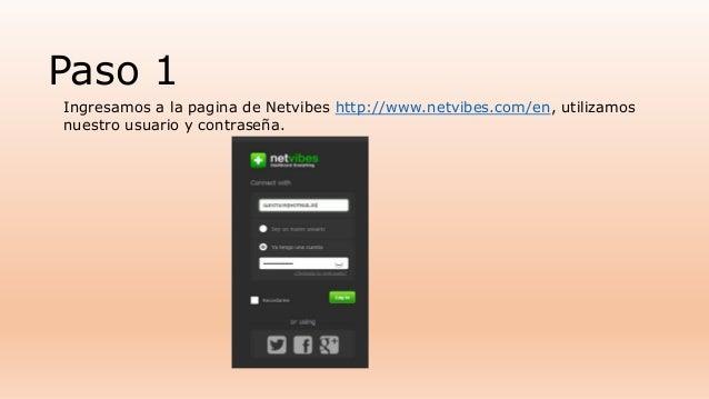 Tutorial de como publicar información en un lector rss en una red social Slide 2