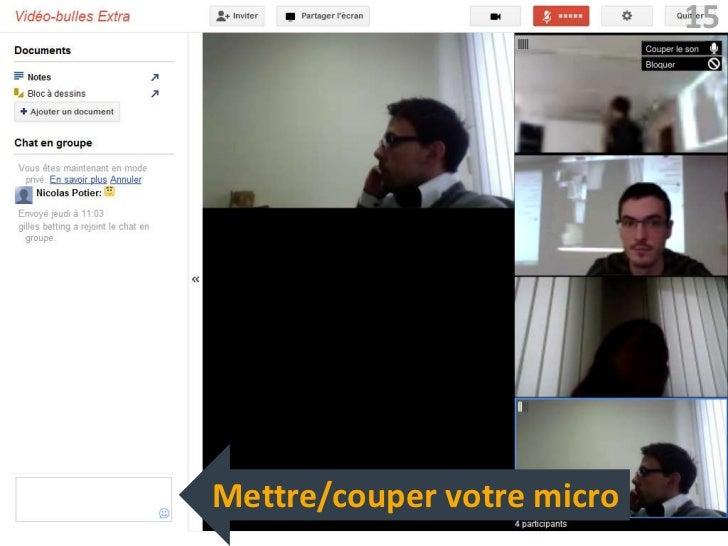 15Mettre/couper votre micro