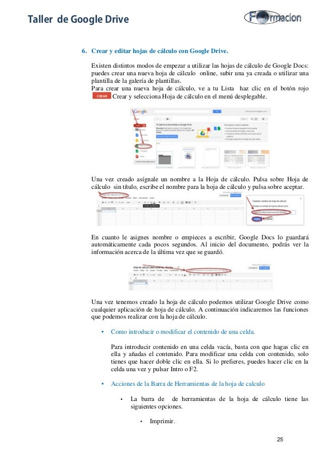 Tutorial de google drive