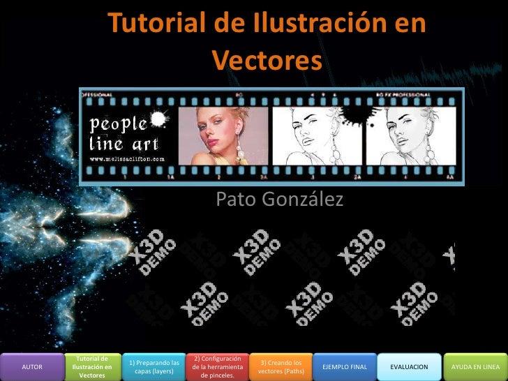 Tutorial de Ilustración en                              Vectores                                                        Pa...