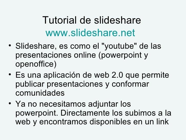 Tutorial De Slideshare Slide 2
