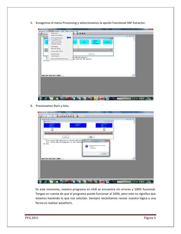 5. Escogemos el menú Processing y seleccionamos la opción Functional SNF Extractor.   6. Presionamos Start y listo.      E...