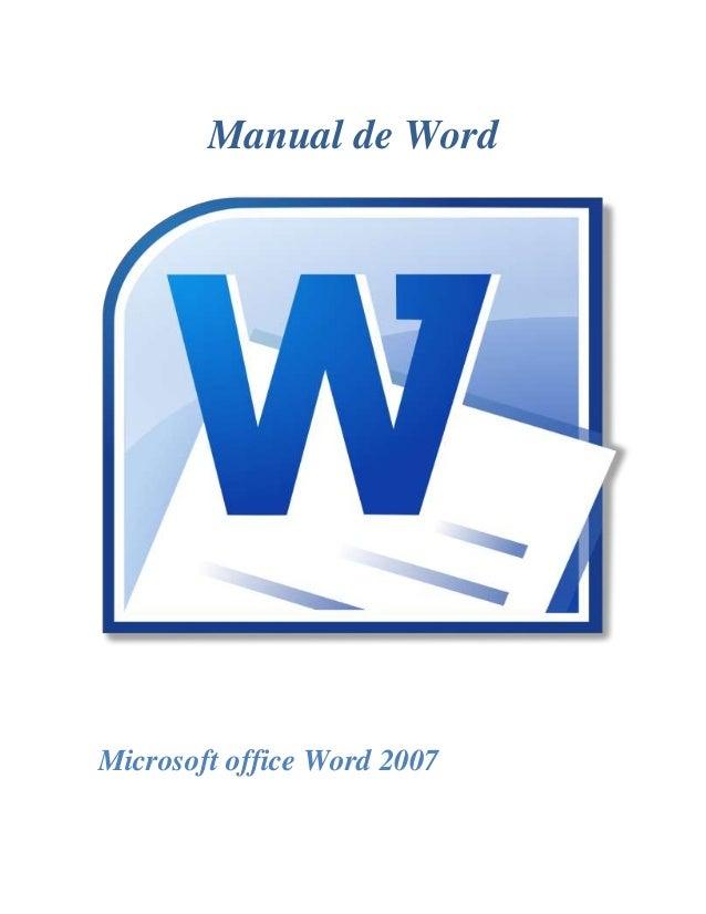 Manual de Word Microsoft office Word 2007