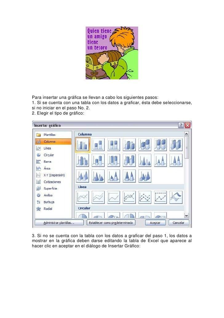 4. Con los datos correctos se puede mejorar el gráfico resultante utilizando las    Herramientas de Gráficos en la pestaña...