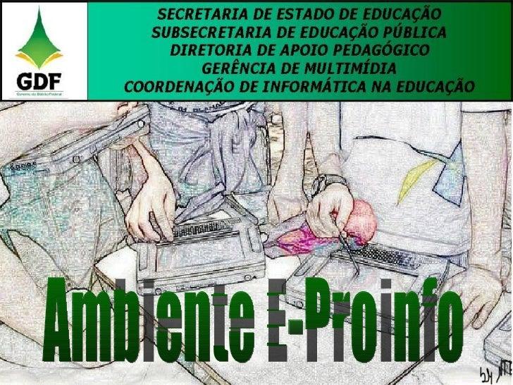 Ambiente E-Proinfo