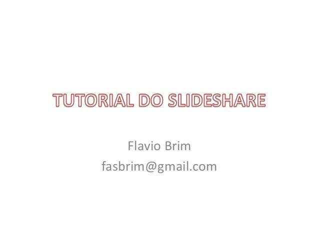 Flavio Brim fasbrim@gmail.com
