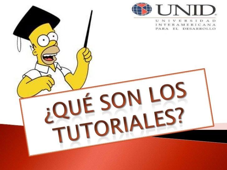 Software educativo: ¿que son los tutoriales?