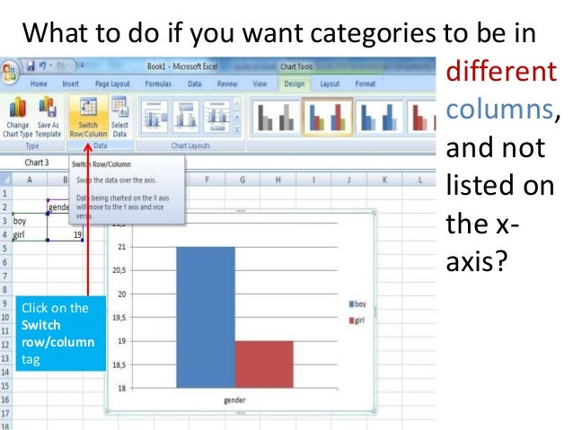 Tutorial for chart design in ms excel 2007 6 ccuart Image collections