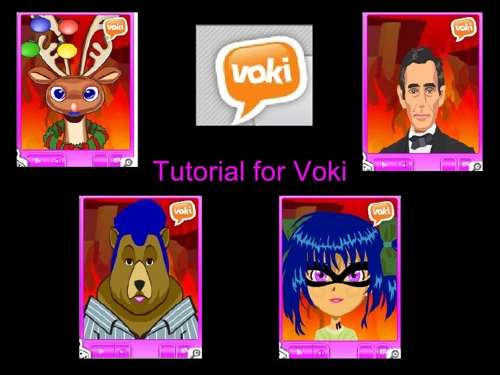 Tutorial for Voki