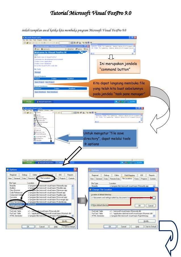 Tutorial Microsoft Visual FoxPro 9 0
