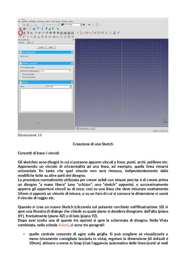 Tutorial Free Cad (italiano) – Kentstrapper per Ginestra Fabbrica del…