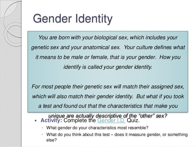 Gender Tutorial