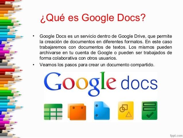Tutorial google doc 2014 karina crespo for Google docs que significa